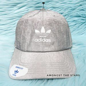 adidas Relaxed Shine Matte Silver Reflective Hat